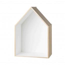 Grande étagère en forme de maison. Taille L