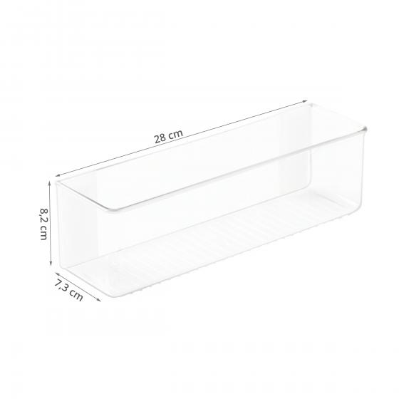 Rangement adhésif transparent. L