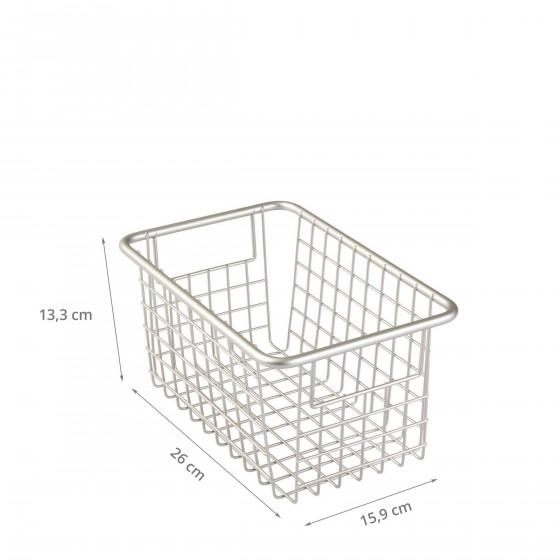 Panier métallique rectangulaire (M)
