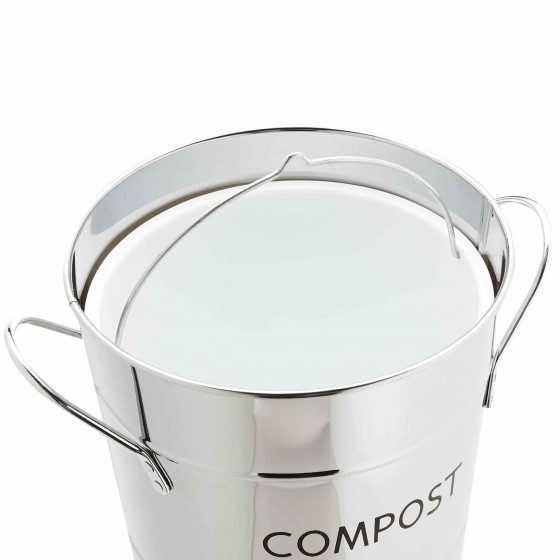 Seau compost inox for Seau compost cuisine