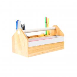 Organisateur de bureau en bois