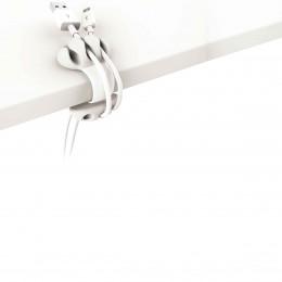 Clip à cables blanc