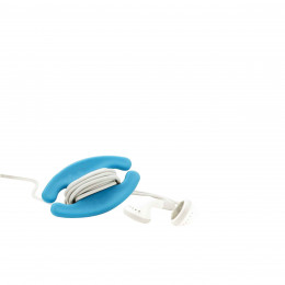 Porte oreillettes, bleu