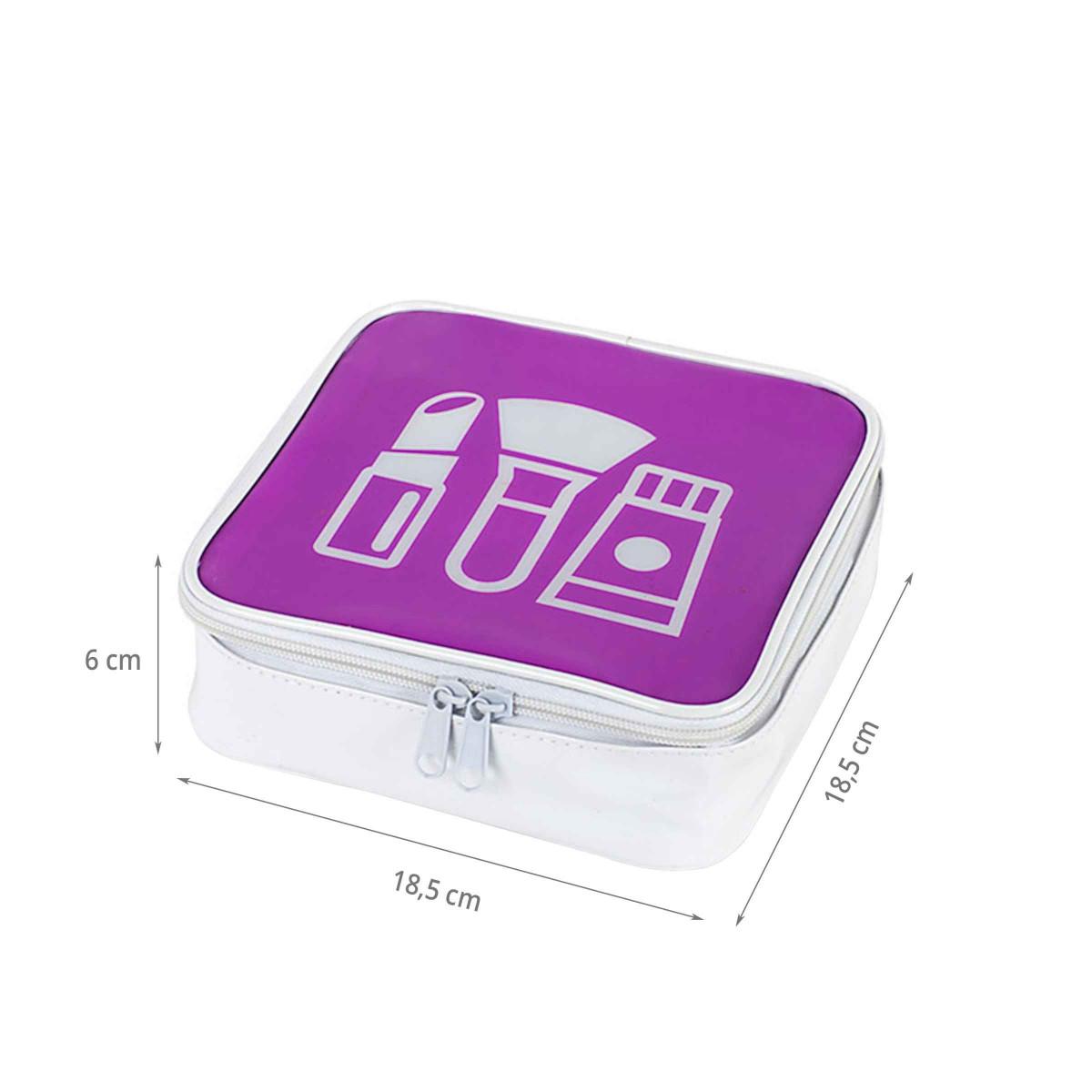 trousse maquillage rose violet. Black Bedroom Furniture Sets. Home Design Ideas