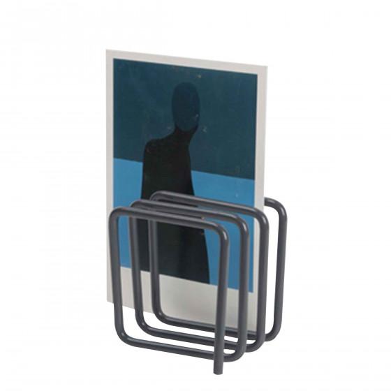 porte lettres design gris noir. Black Bedroom Furniture Sets. Home Design Ideas