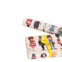 Feuille de papier cadeau enfant