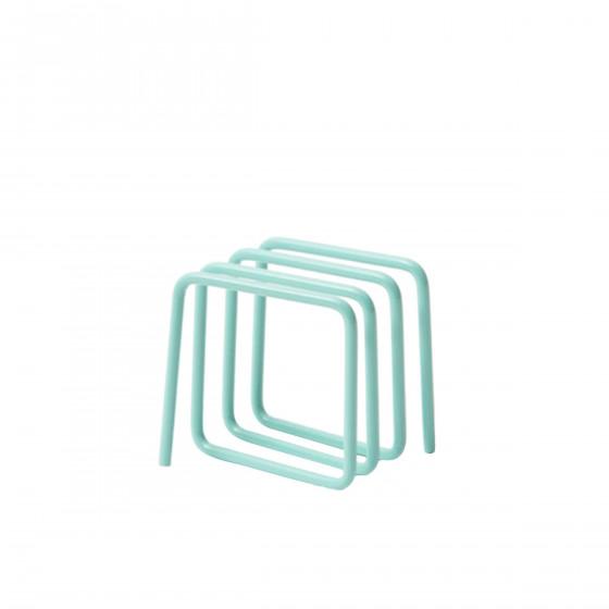 Porte courrier bleu clair