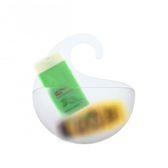 Rangement de douche transparent M