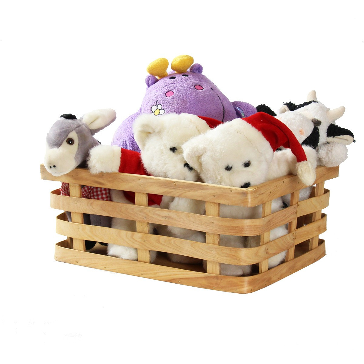 panier en bois rangement jeux et jouets. Black Bedroom Furniture Sets. Home Design Ideas