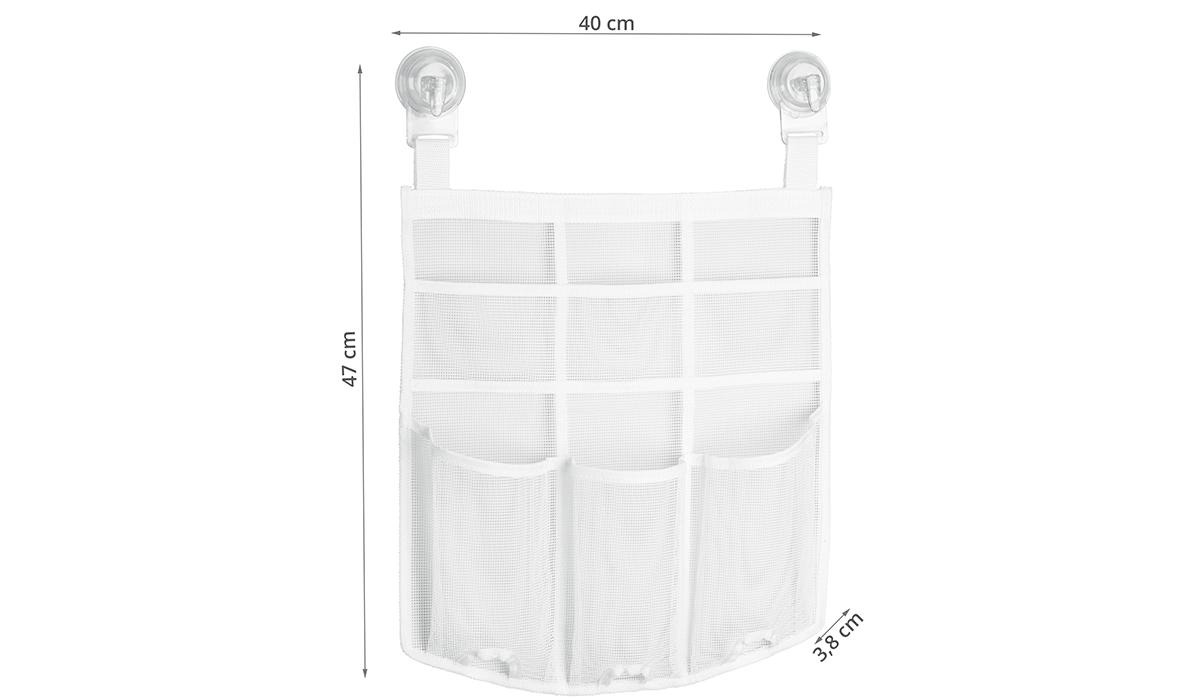 sac de rangement pour douche fixation murale. Black Bedroom Furniture Sets. Home Design Ideas