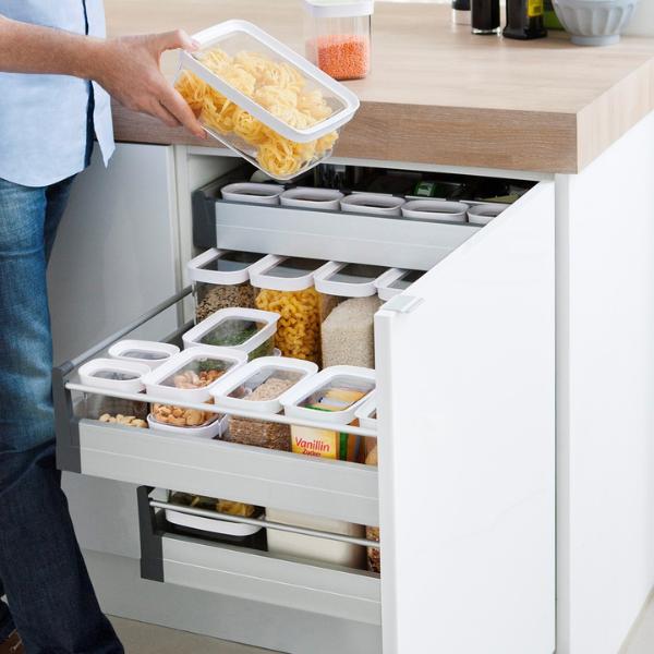 Rangement en bois avec compartiments et tiroirs pour bijoux et maquillage