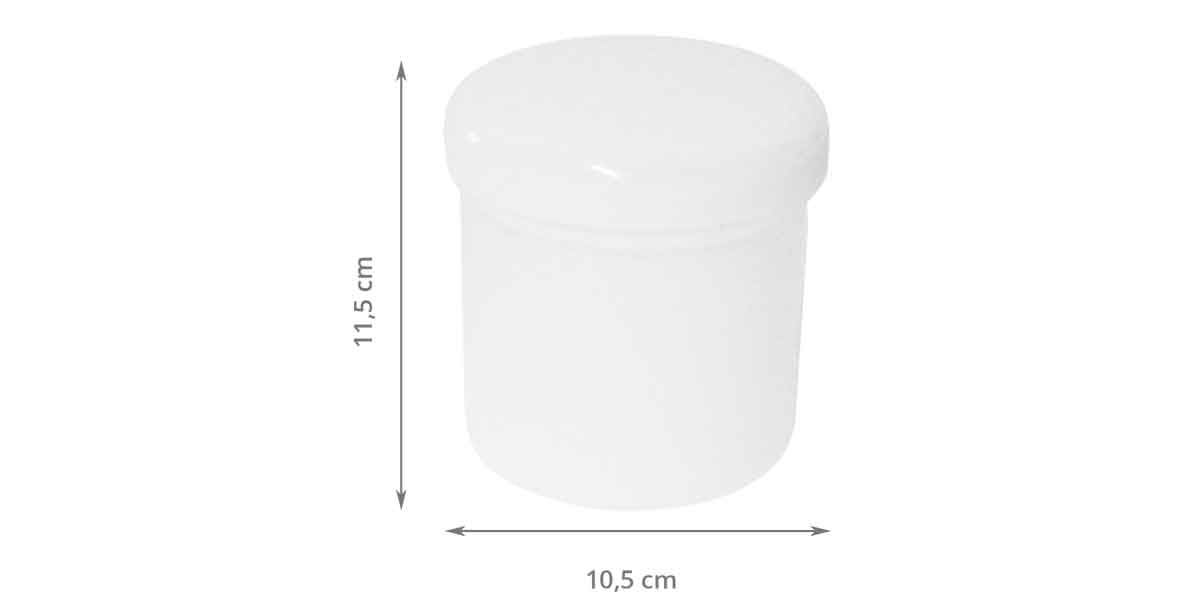 Dimensions de la boîte à coton tiges