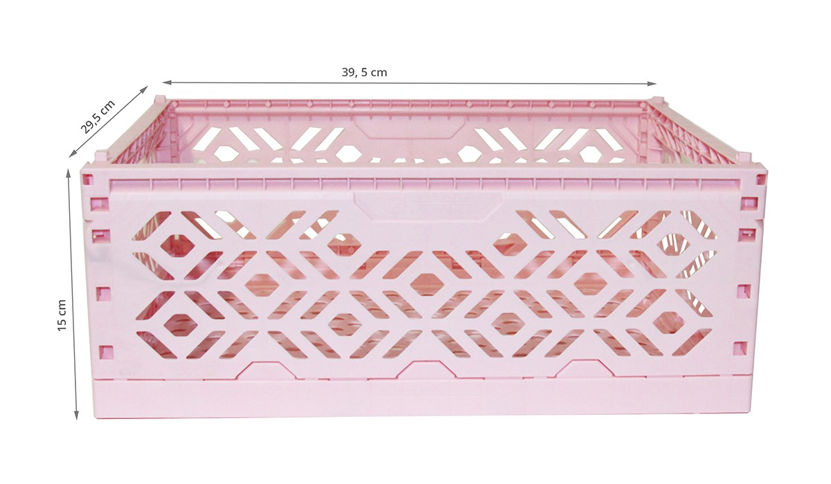cagette rangement en plastique rose rangement jouets. Black Bedroom Furniture Sets. Home Design Ideas