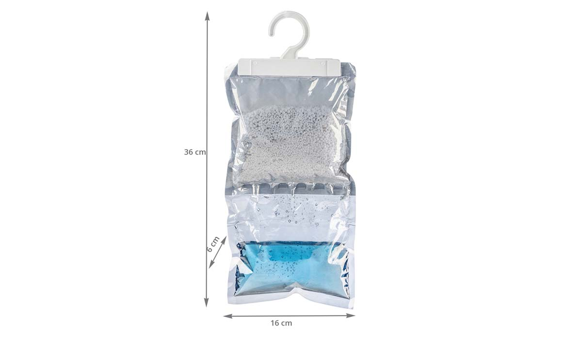 Absorbeur D Humidité Avis 2 sachets absorbeurs d'humidité à suspendre
