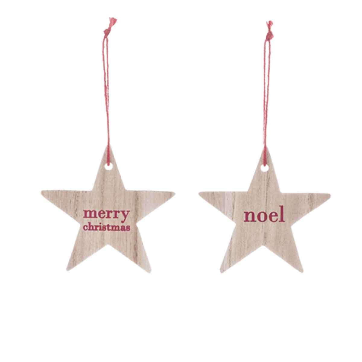 Toiles de no l en bois avec inscription noel et merry christmas - Chemin de table de noel ...