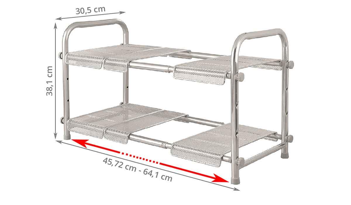 etag re extensible sous vier acier. Black Bedroom Furniture Sets. Home Design Ideas