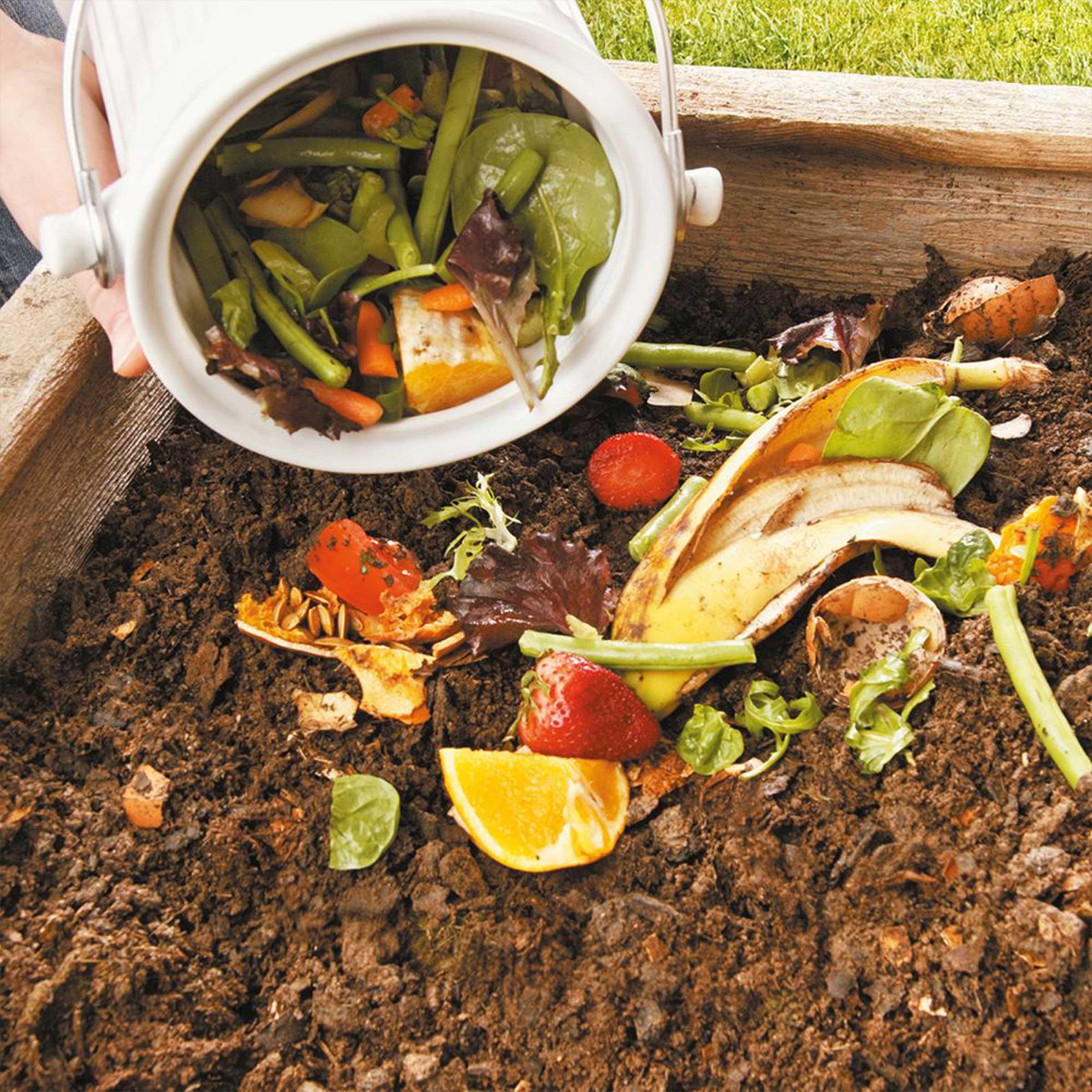 Seau compost cologique 4 5 litres for Seau compost cuisine