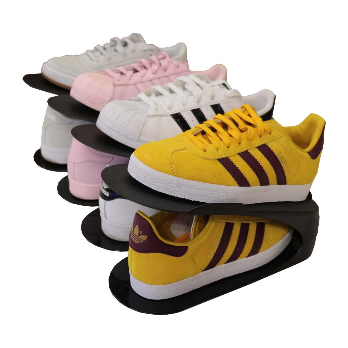 Rangement À Chaussures Gain De Place 4 range-chaussures gain de place noirs