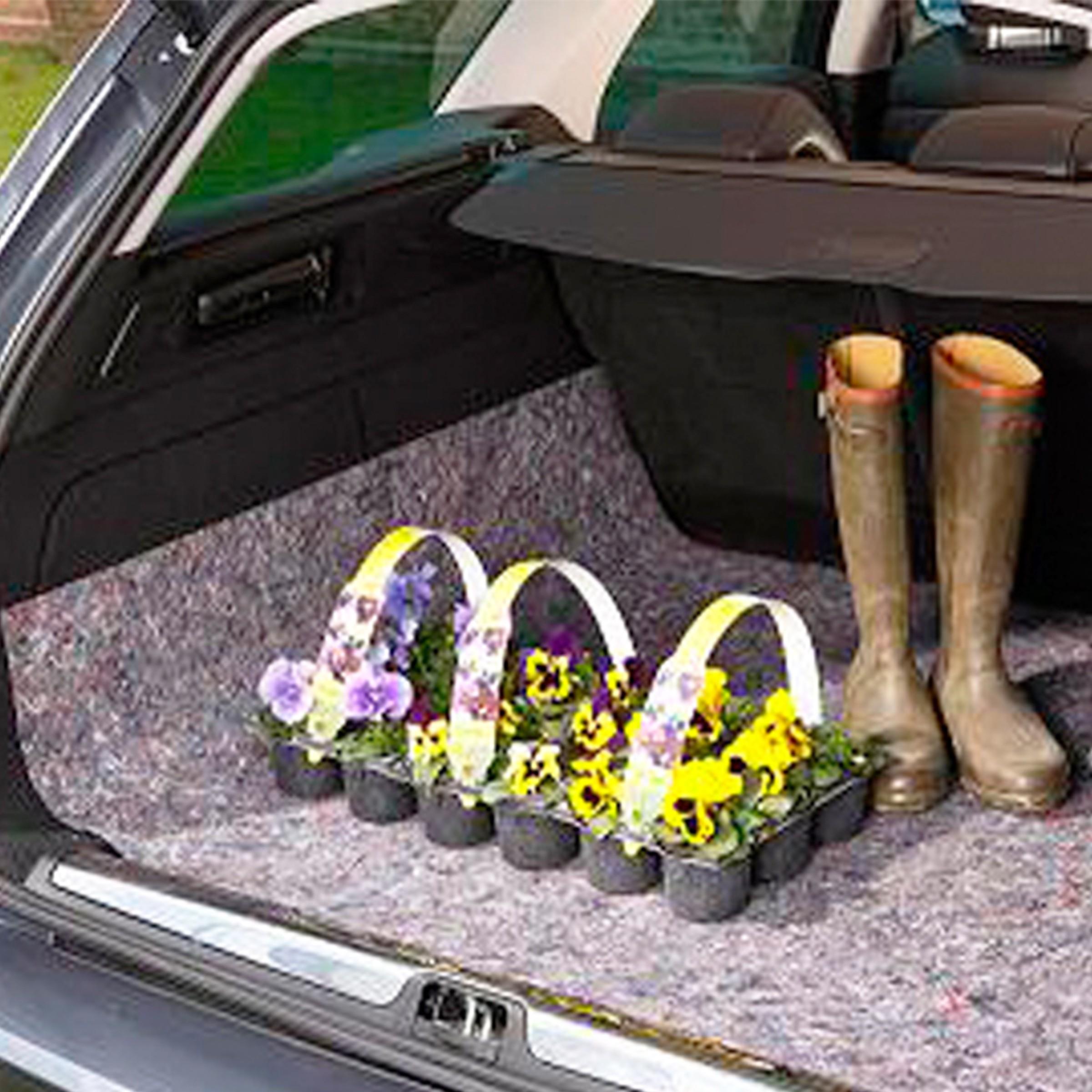 Couverture de protection imperméable grise pour coffre de voiture