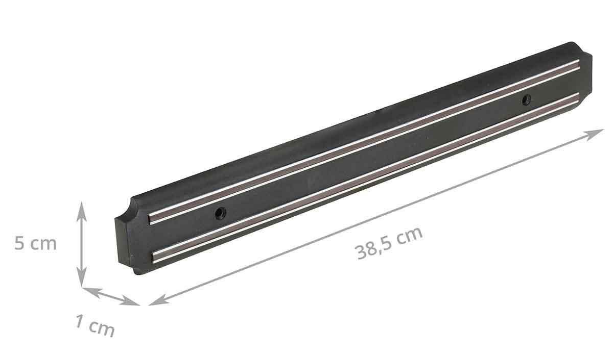 barre magn tique porte couteaux 38 cm. Black Bedroom Furniture Sets. Home Design Ideas