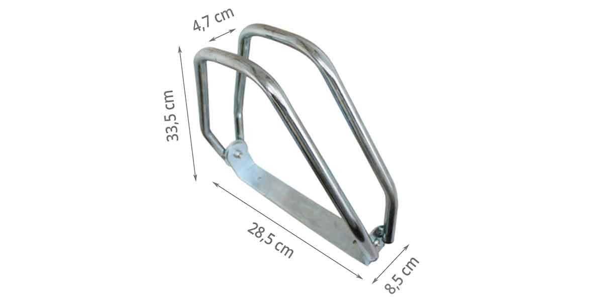 Dimensions du range vélo