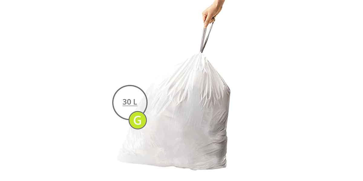 Taille des sacs poubelles 30L