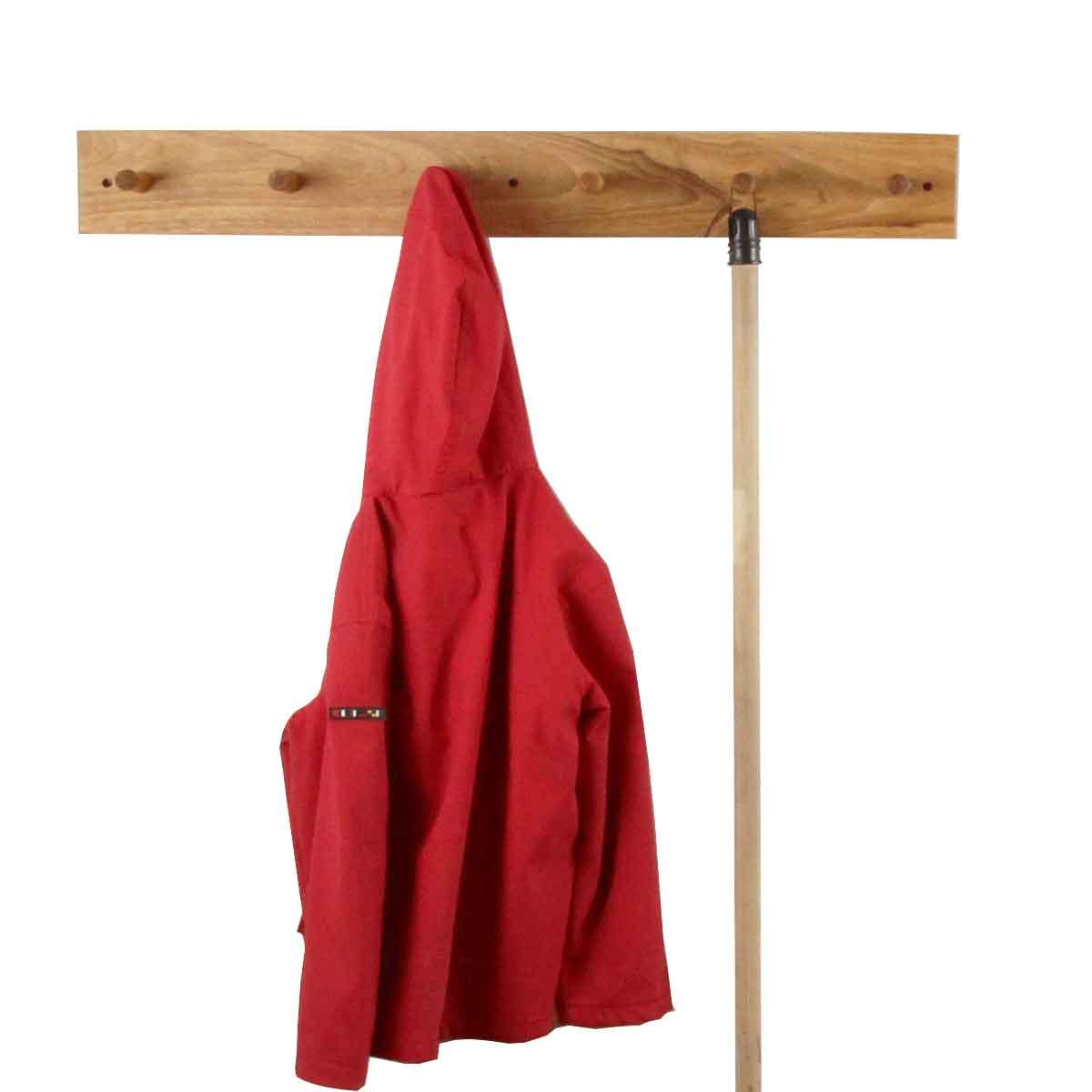 Porte manteau ch ne massif rangement - Porte manteau suspendu ...