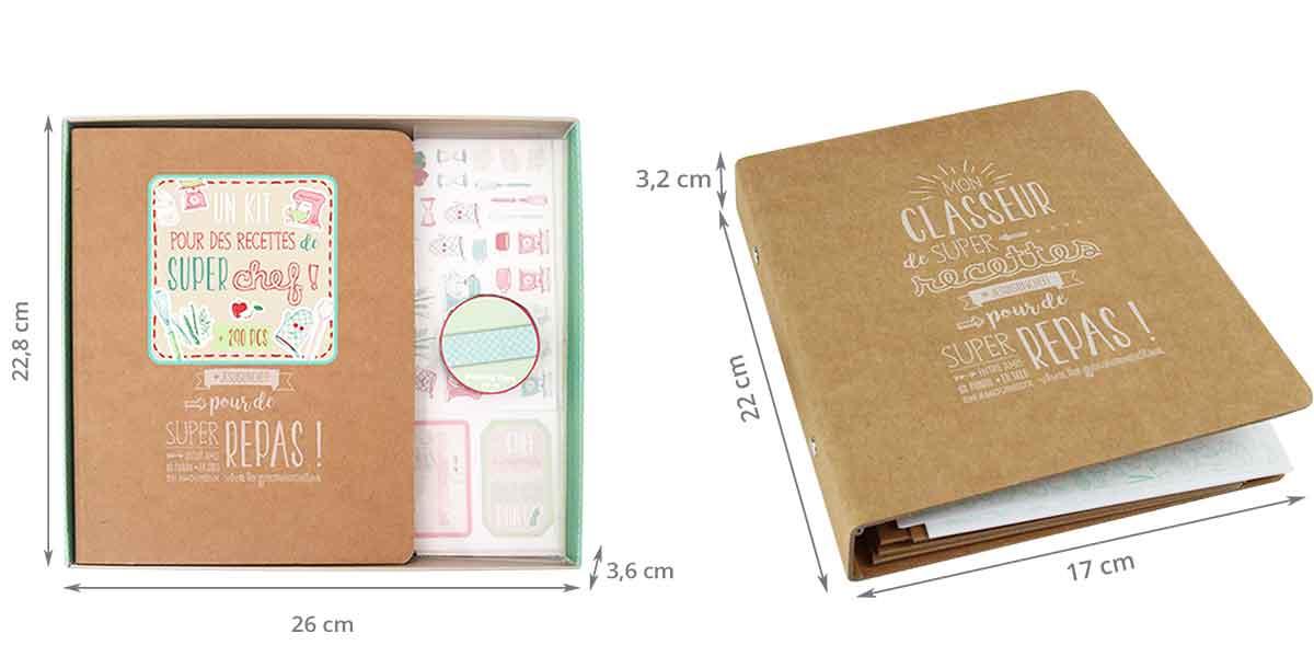 Cahier de recettes