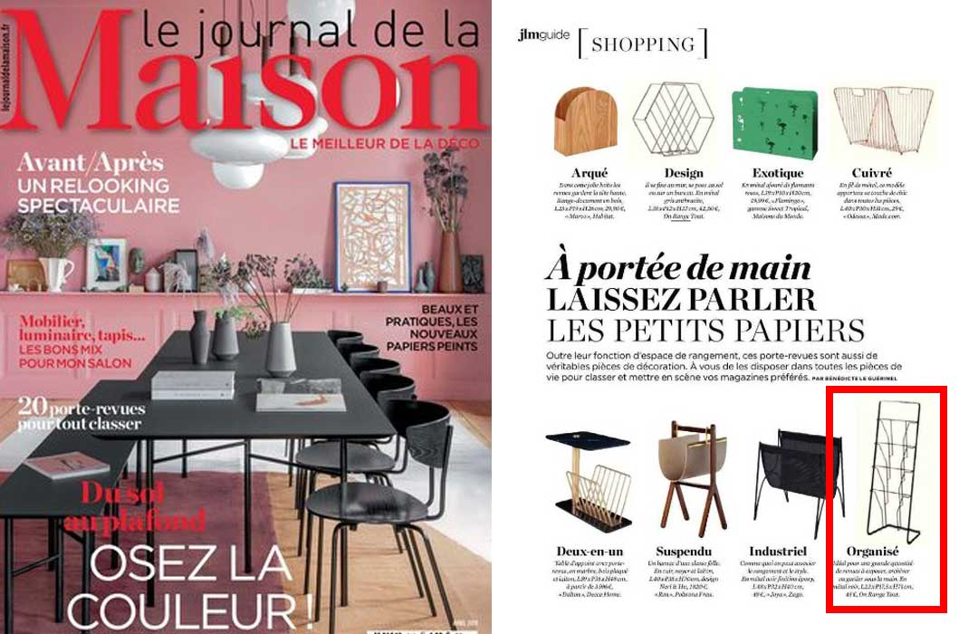 Le journal de la maison avril 2019