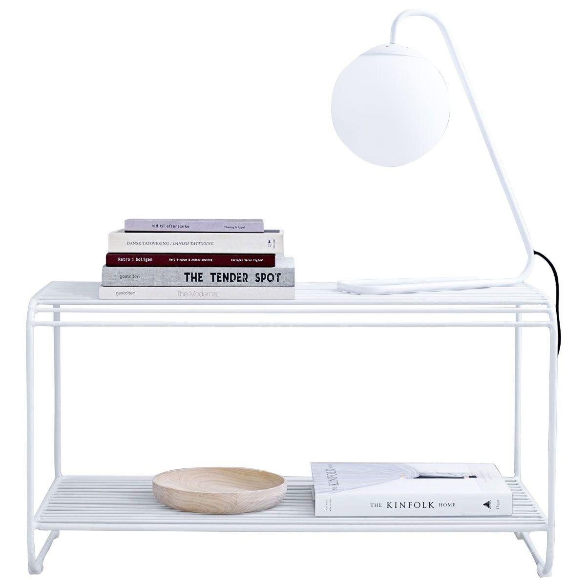 Petit Banc D Entrée Avec Rangement banc d'entrée design en métal blanc