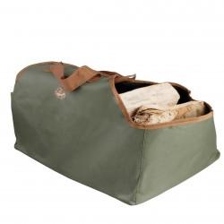 sac à bûches kaki