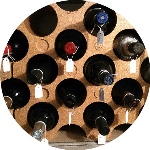 rangement du vin