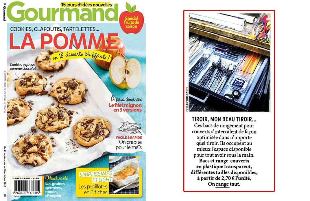 Magazine gourmand septembre 2017