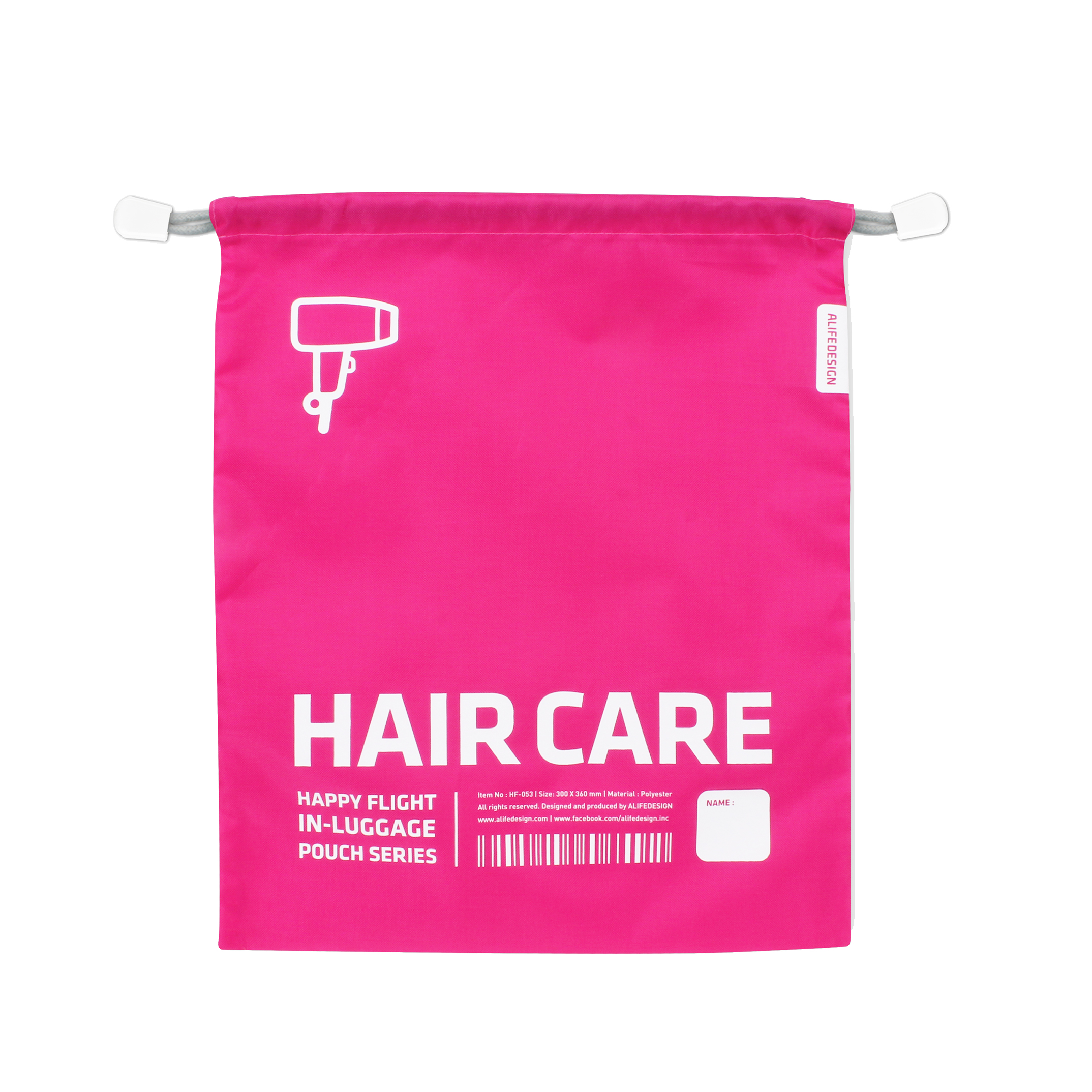 Rangement Pour Seche Cheveux housse de voyage fuchsia pour sèche cheveux