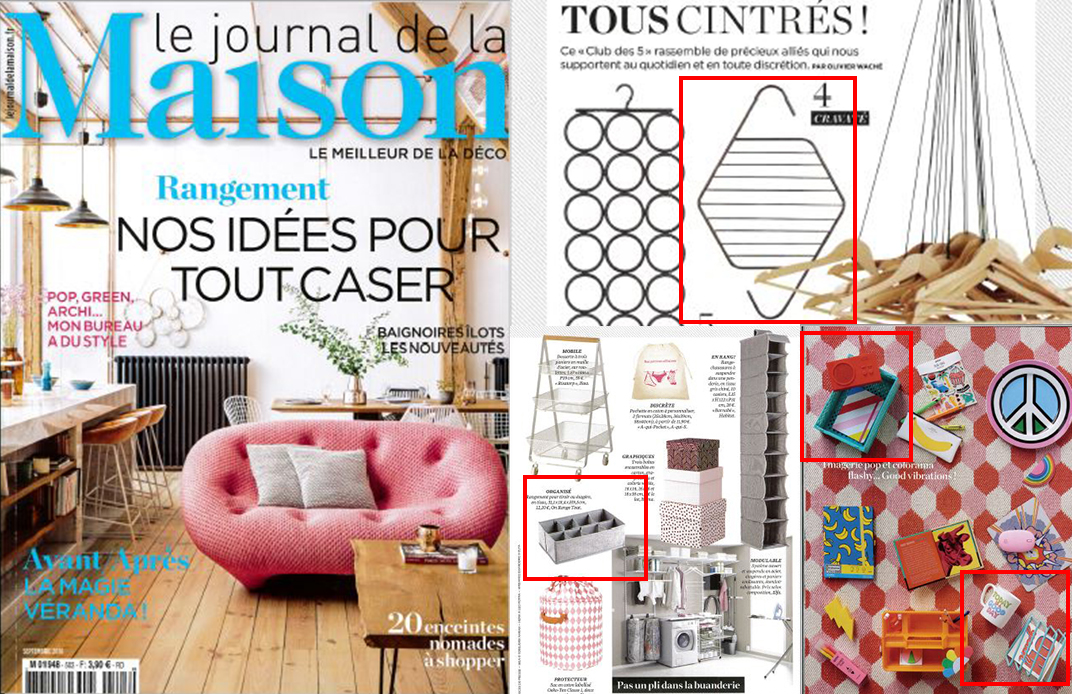 couverture le journal de la maison septembre 2018
