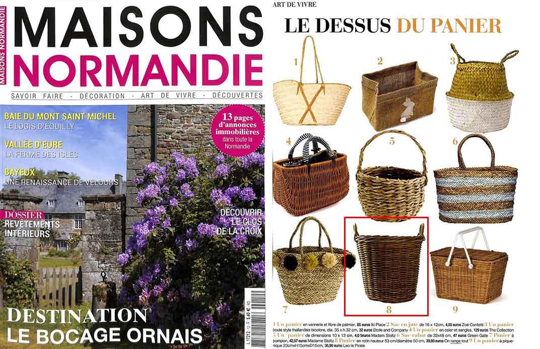 Magazine maison normandie octobre 2017