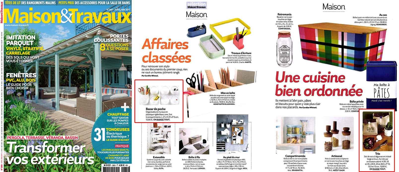 maison et travaux magazine elegant spcial dco n juiaosep with maison et travaux magazine. Black Bedroom Furniture Sets. Home Design Ideas