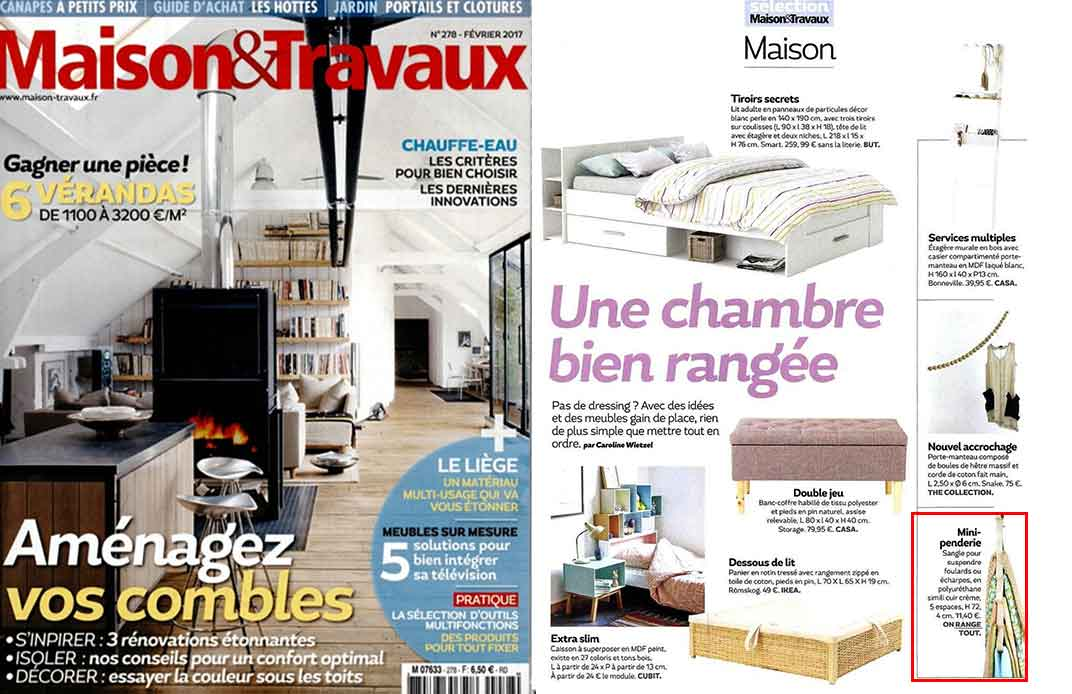 magazine maison et travaux trendy with magazine maison et. Black Bedroom Furniture Sets. Home Design Ideas