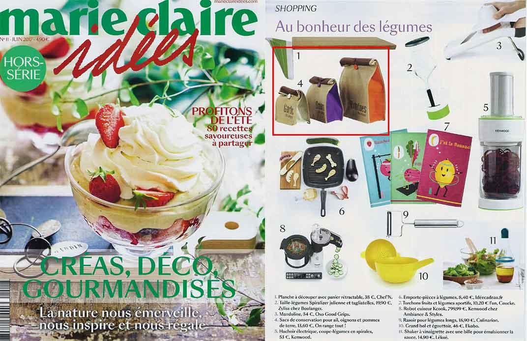 Magazine Marie Claire Idées juin 2017
