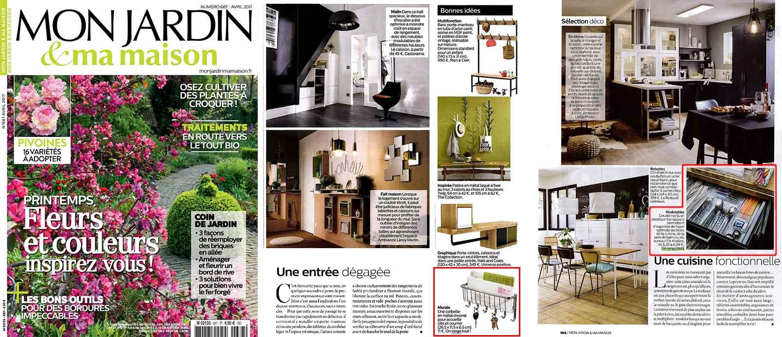porte courrier mural rangement entr e. Black Bedroom Furniture Sets. Home Design Ideas