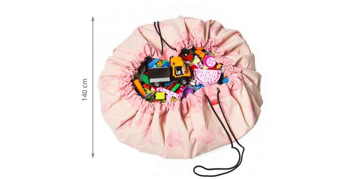 Tapis de rangement pour jouets enfants